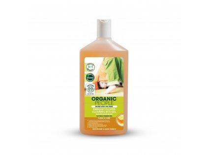 Organic People Eko čistící gel na parkety s organickým včelím voskem