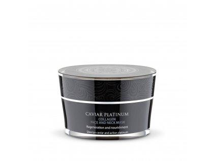 Caviar Platinum Kolagenová maska na krk a obličej, 50ml