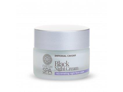 Fresh Spa Imperial Caviar Černý omlazující pleťový noční krém, 50ml