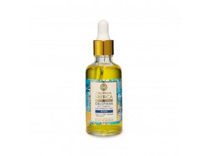 Oblepikha Siberica Rakytníkový olejový komplex pro poškozené vlasy, 50ml