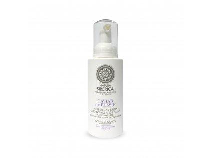 Sibérie Blanche Čistící mýdlo na tvář Caviar de Russie, 175 ml