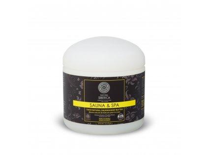 Sauna & Spa Přírodní tělové máslo z růže sibiřské