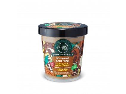 Organic shop Pěna do koupele Čokoláda a makadamový ořech