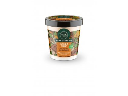 Organic shop Vyživující tělová pěna Mandle a med, 450 ml