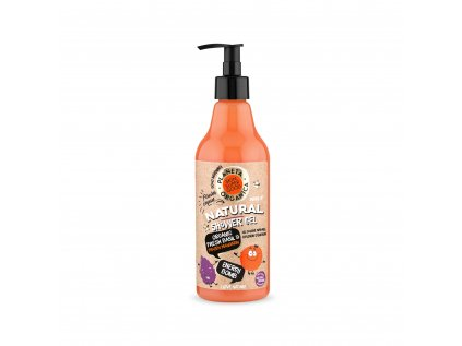 Planeta Organica Sprchový gel Bazalka a mandarinka, 500 ml