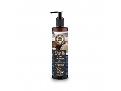 Planeta Organica Kokosový sprchový gel, 280ml