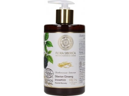 Flora Siberica, Sibiřský šampon ženšen 480 ml