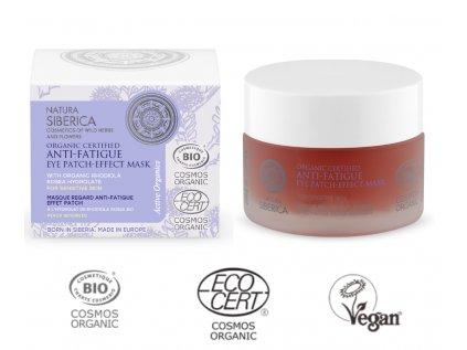 Natura Siberica, Organic Certified, Anti Aging lifting efekt, maska pro oční okolí, 15ml