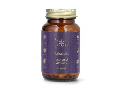 NaturLabs - Liposomální vitamín C, 500 mg, 60 kapslí