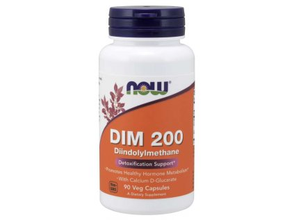NOW DIM 200 Diindolylmethane, 90 rostlinných kapslí