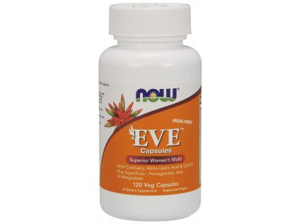 NOW Multi Vitamins Eve, Women's Superior, 120 rostlinných kapslí