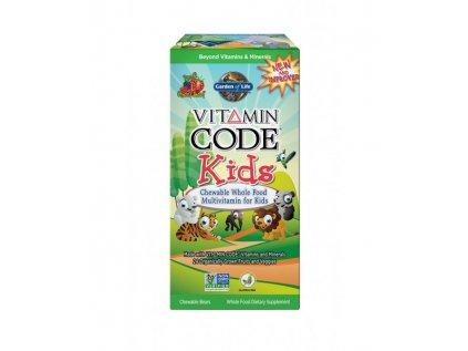 Vitamin Code Kids (multivitamín pro děti) - 60 pastilek
