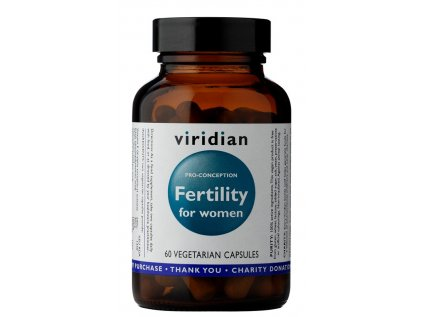 Viridian Fertility for Women 60 kapslí