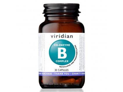 Viridian Co-enzyme B Complex 30 kapslí