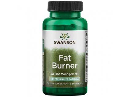 Swanson Fat Burner, Spalovač tuku/Urychlovač metabolismu, 60 tablet