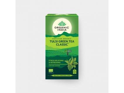 Tulsi se zeleným čajem BIO, 25 sáčků