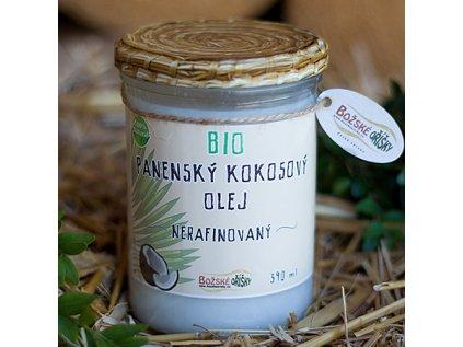 Božské Oříšky - Bio panenský kokosový olej, 370g