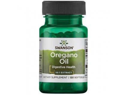 Swanson Oregano oil 10:1 (Extrakt z oregánového oleje), 150 mg, 120 softgel kapslí