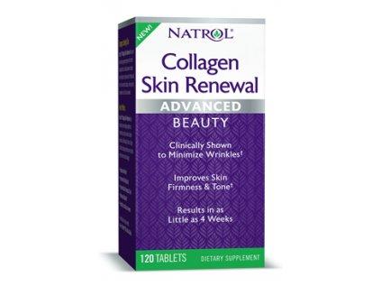 Natrol Collagen Skin Renewal (kolagenní peptidy), 120 tablet
