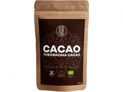 BrainMax Pure Organic Cacao, Bio Kakao z Peru, 500 g  *ES-ECO-020-CV certifikát