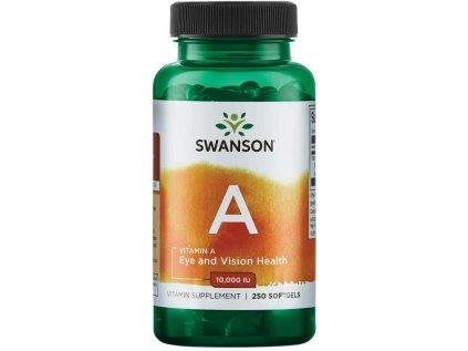 Swanson Vitamin A, 10000 IU, 250 softgels