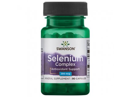 Swanson Selenium complex, 200 mcg, 90 kapslí