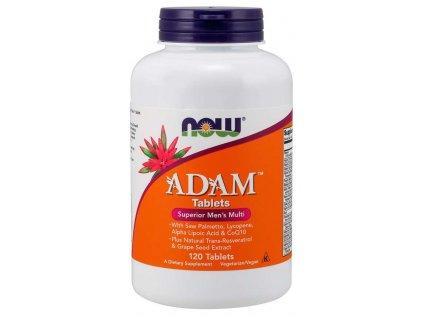 NOW Multi Vitamins Adam, Men's Superior, 120 tablet
