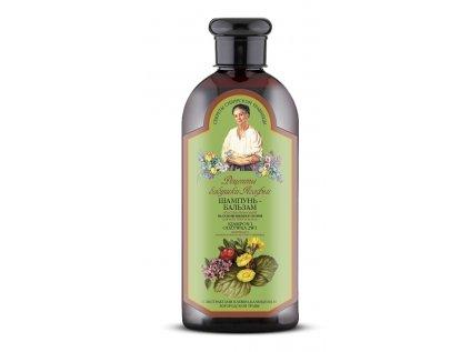 Agafja 2v1 regeneračný šampón a kondicionér na všetky typy vlasov, 350ml