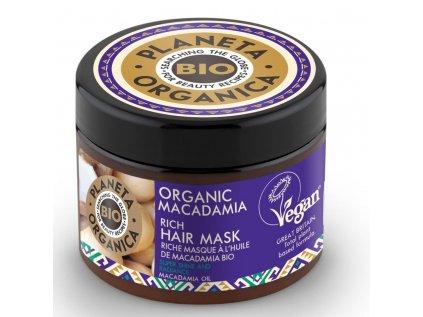 2652 planeta organica organic macadamia rich hair mask 1