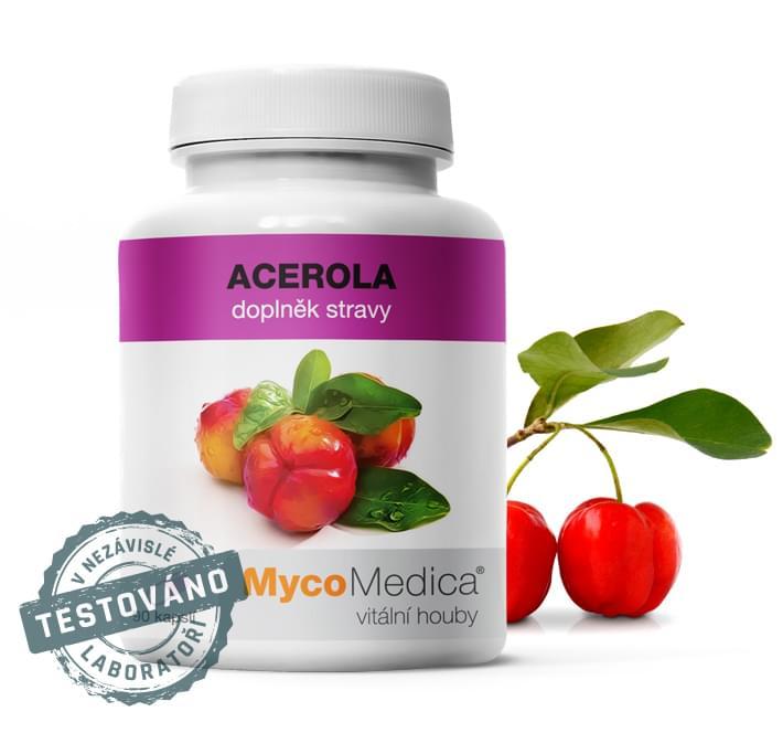 Acerola (Brazilská čerešňa) Prírodný vitamín C