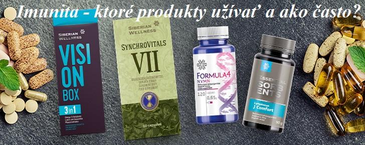 Imunita - ktoré produkty užívať a ako často?