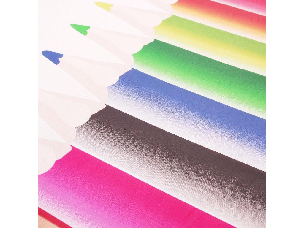 4766 dekoracni latka pastelky