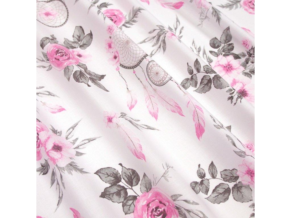 4820 dekoracni latka ruzovy lapac snu