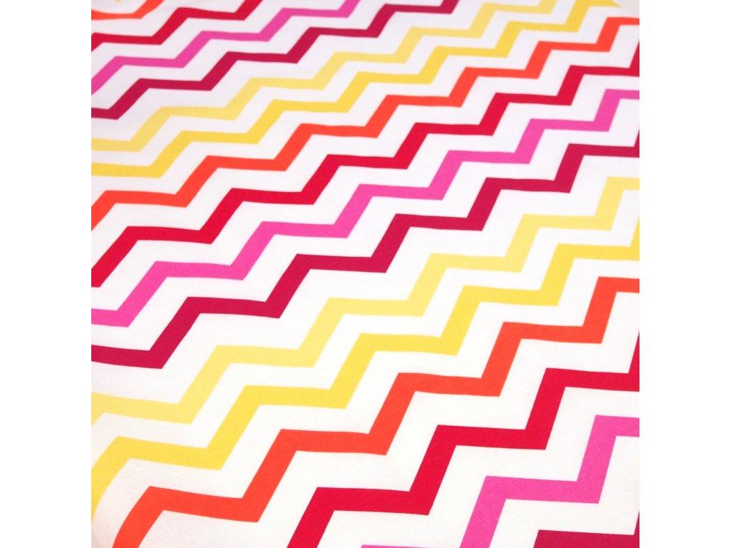 4850 dekoracni latka barevny sevron