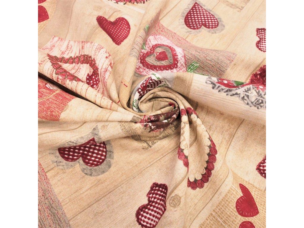 5198 dekoracni latka srdce srdicka laska