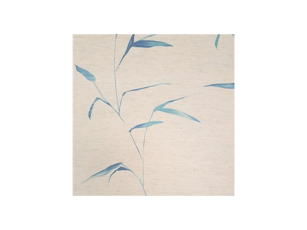 5561 dekoracni latka modre listy