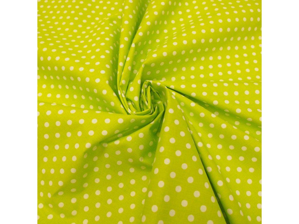 5771 dekoracni latka zeleny puntik