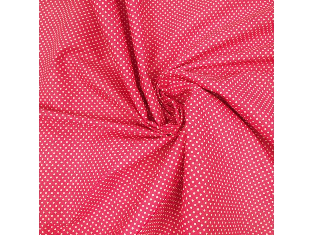5786 dekoracni latka ruzovy puntik