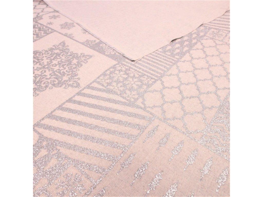 6020 vanocni latka rezna stribrny patchwork