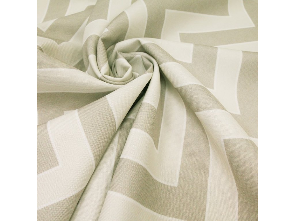 6074 dekoracni latka sedy geometricky vzor