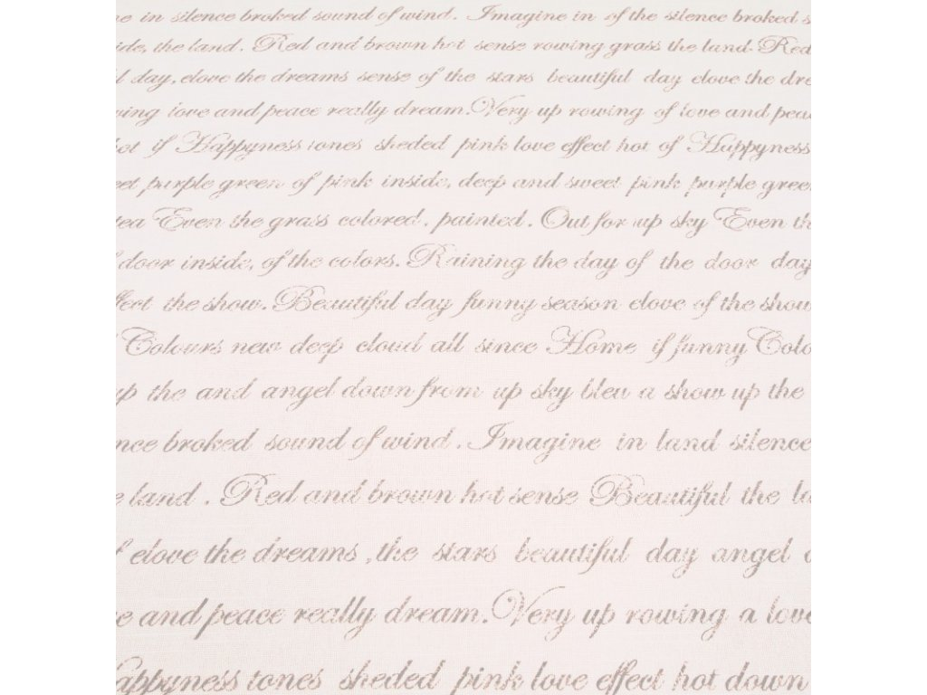 6107 dekoracni latka text