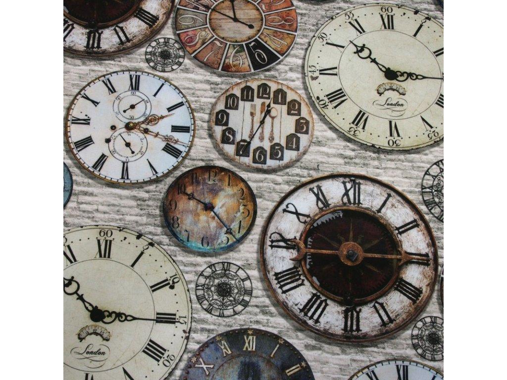 6215 dekoracni latka hodiny