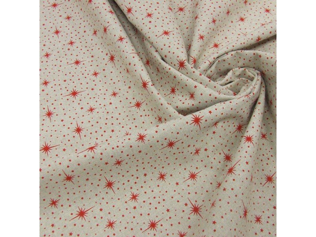 6341 vanocni latka cervene hvezdicky