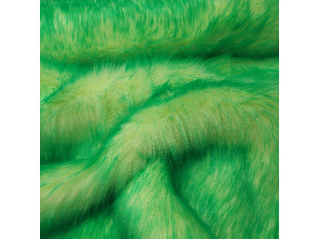 kožešina neonově zelená (2)