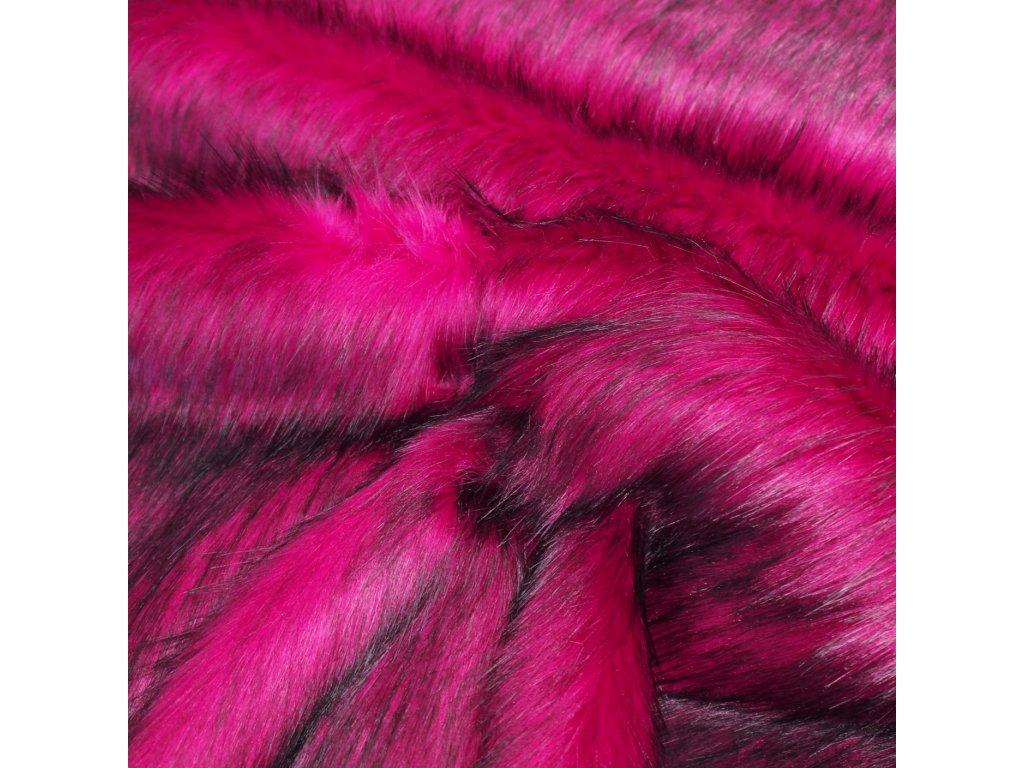 kožešina pink růžová (2)