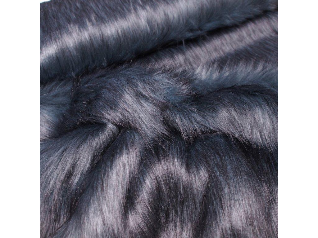 kožešina šedo modrá (2)