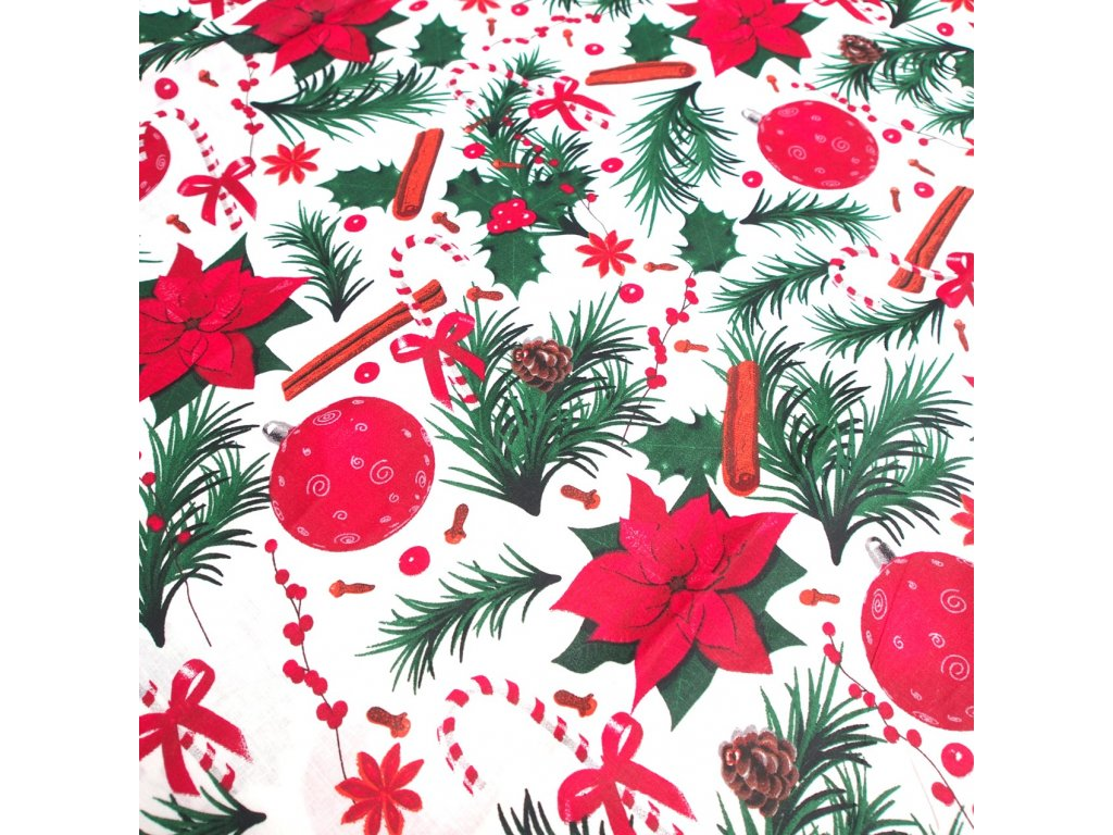 vánoční látka vánoční hvězda