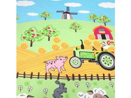 4583 bavlnena latka na farme