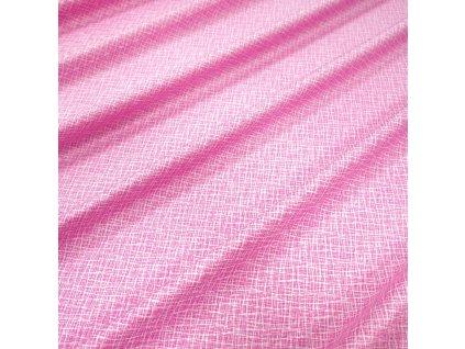 4640 bavlnena latka ruzova zihana