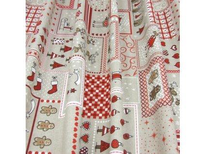 6350 vanocni latka vanocni patchwork
